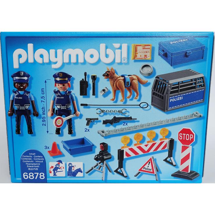 playmobil - polizei straßensperre | diversity-spielzeug