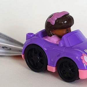 Little People – Spielzeugauto, lila