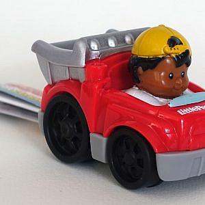 Little People – Spielzeugauto, rot