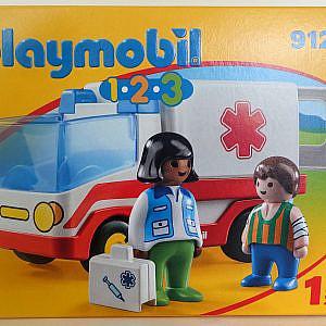 Playmobil 1*2*3 – Rettungswagen