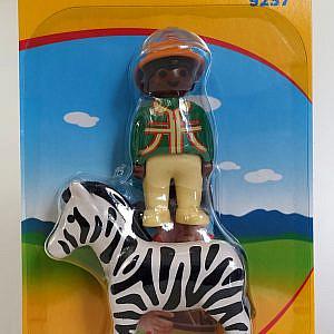 Playmobil 1*2*3 – Schwarzer Ranger