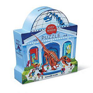 Puzzle – Ein Tag im Dinosauriermuseum, 48 Teile