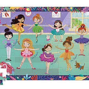 Puzzle und Box Little Ballerina 48Teile