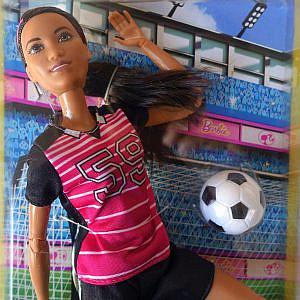 Barbie – Fußballerin of Color