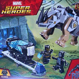 Lego -Black Panther, Rhino Entscheidung an der Mine