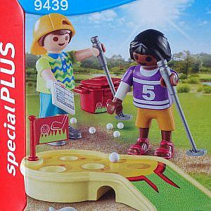 Playmobil – Kinder beim Minigolfspiel