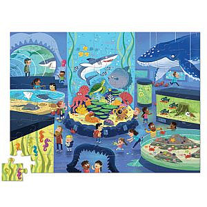 Puzzle – Ein Tag im Museum-Aquarium 72 Teile