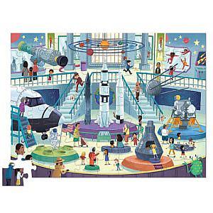 Puzzle – Ein Tag im Museum, Weltraum, 72Teile