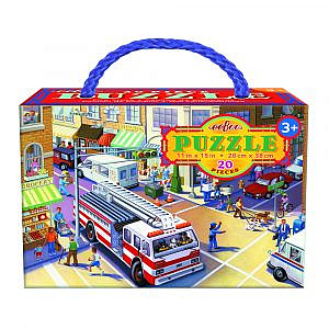 eeboo – Puzzle Feuerwehr 20 Teile