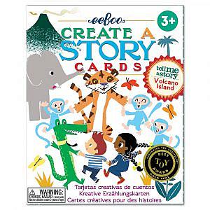 eeboo – Create a Story Vulkaninsel