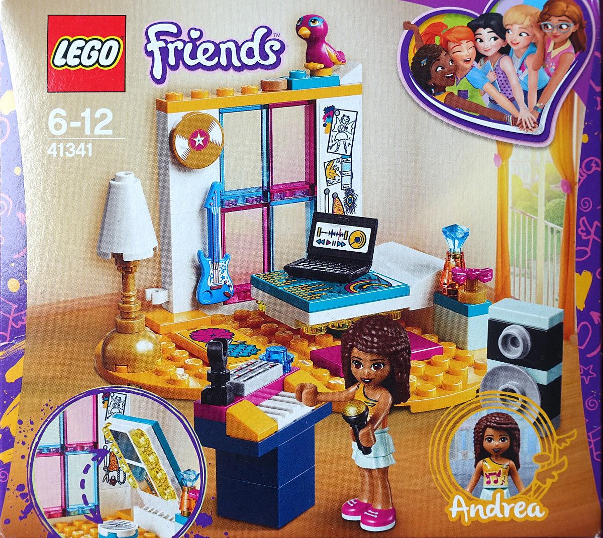 Lego Friends Andreas Zimmer Diversity Spielzeug