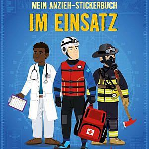 Mein Anzieh-Stickerbuch – Im Einsatz
