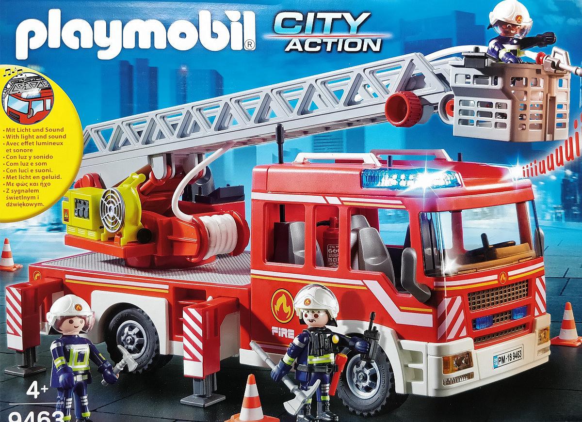 playmobil - feuerwehr-leiterfahrzeug | diversity-spielzeug