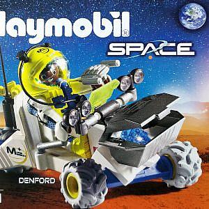 Playmobil® – Schwarzer Astronaut im Mars-Trike