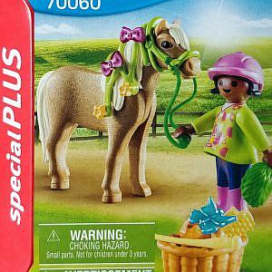 Playmobil® – Schwarzes Kind mit Pony