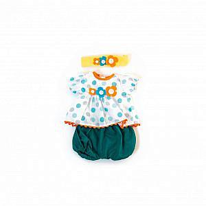 Miniland – Blusen-Set, 38 bis 40cm (Puppenkleidung)
