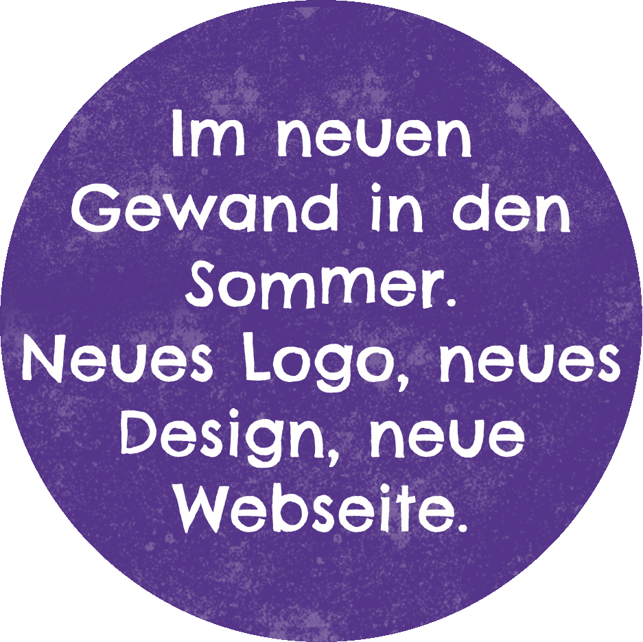 Alles neu macht der Sommer. Neues Logo, neues Design, neue Webseite.