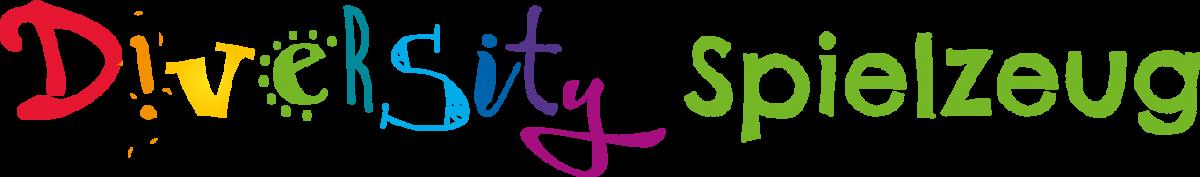 Logo Diversity Spielzeug einzeilig